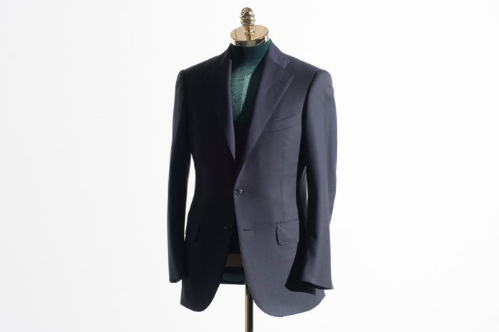 Suit navy solid