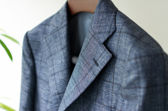 Jacket Navy windowpane